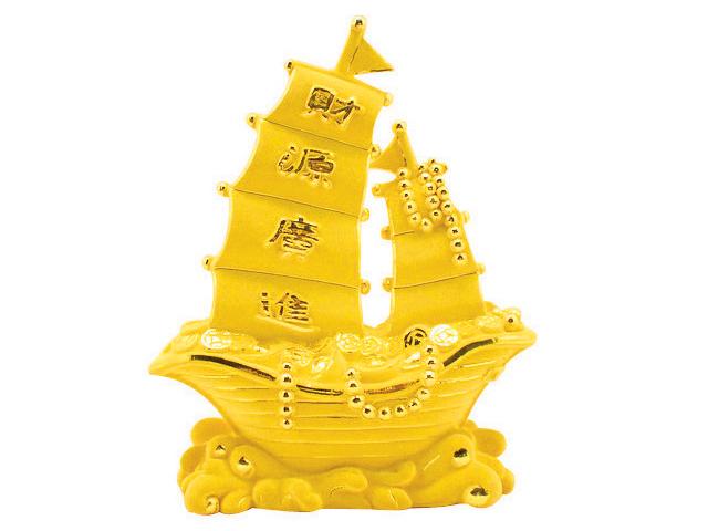 Pure Gold Sailboat