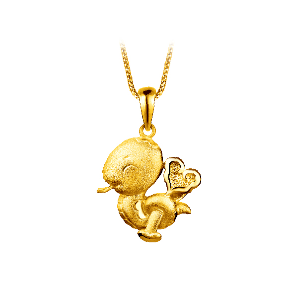 Pure Gold Pendant