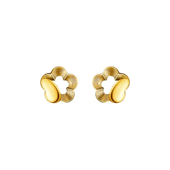 Pure Gold Earrings