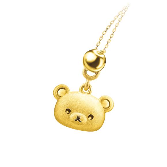 轻松小熊™系列黄金吊坠