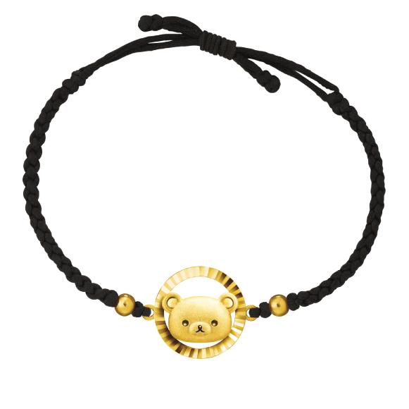Rilakkuma™ Collection Gold String Bracelet
