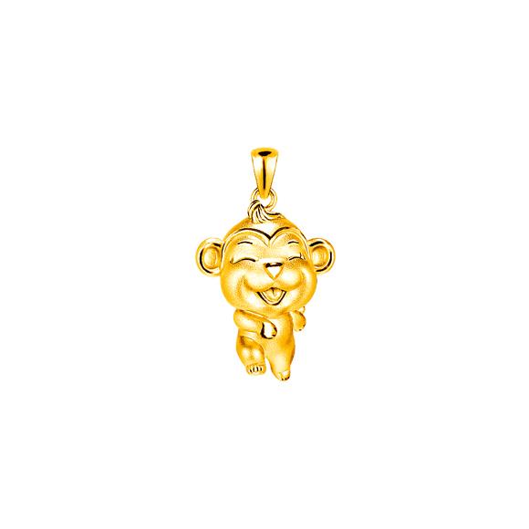 「立体十二生肖饰物」- 猴