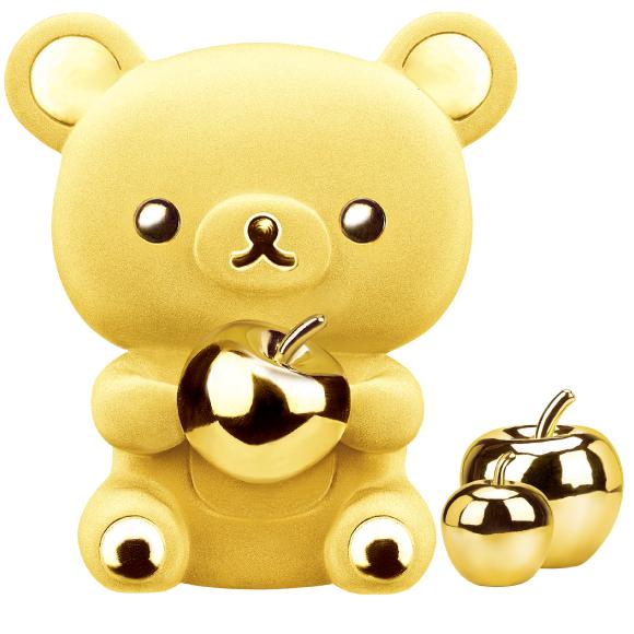 Rilakkuma™ Collection Giant Rilakkuma™ Gold Figurine