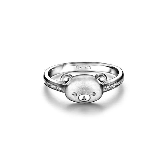 Rilakkuma™ Collection 18K Gold Diamond Ring