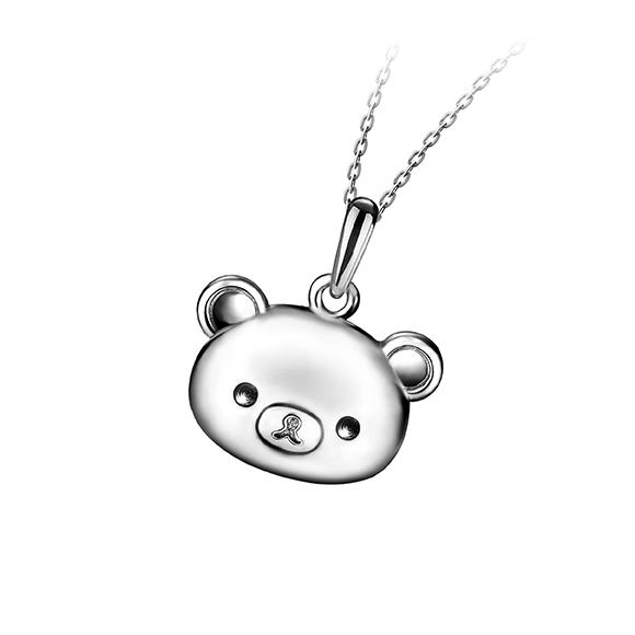 轻松小熊™系列铂金吊坠