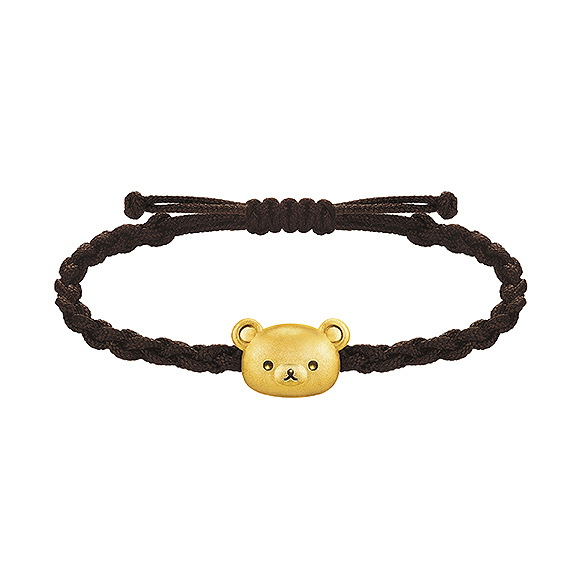 Rilakkuma™ Collection Gold Bracelet