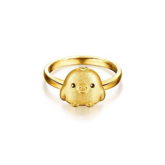 Rilakkuma™ Collection Kiiritori Gold Ring