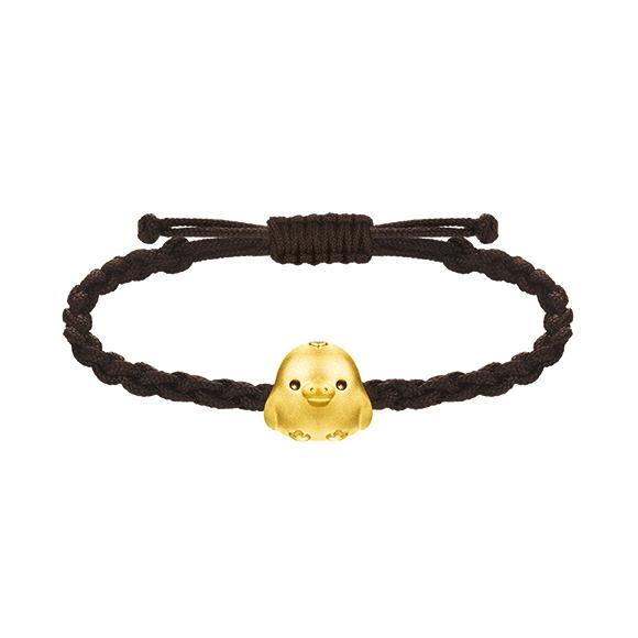 Rilakkuma™ Collection Kiiritori Gold Bracelet