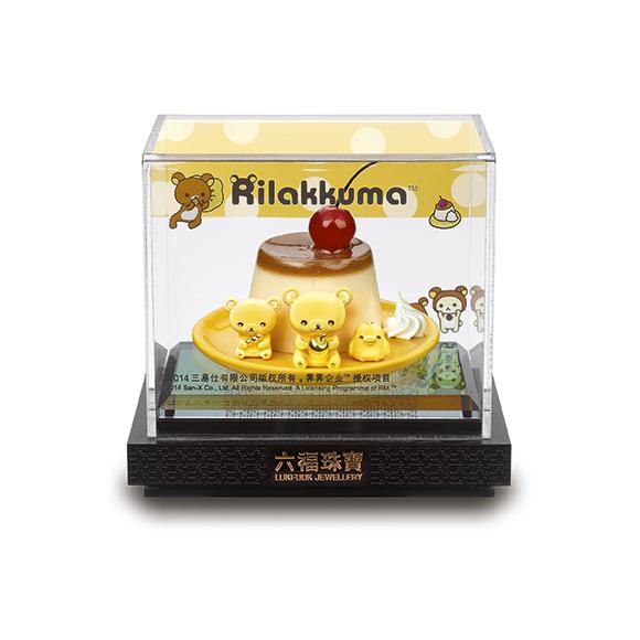 Rilakkuma™ Collection Rilakkuma™ Korilakkuma and Kiiroitori Gold Figurine