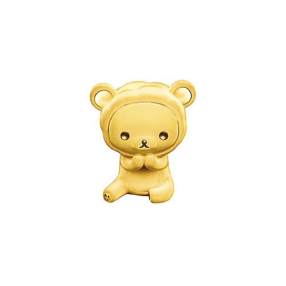 Rilakkuma™ Collection Gold Figurine in Sheep Style