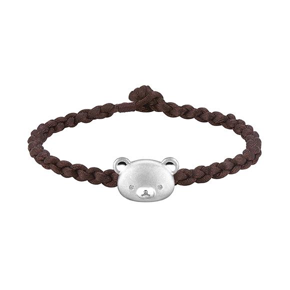 Rilakkuma™  Collection 18K White Gold Diamond Bracelet