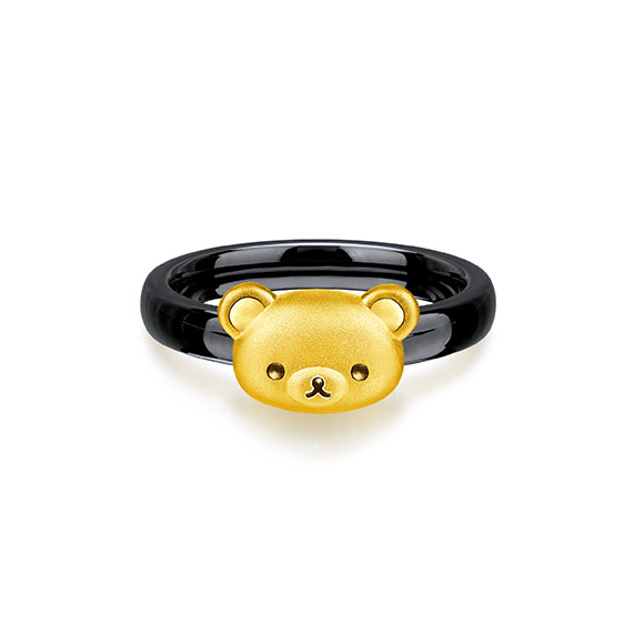 Rilakkuma™ Collection Gold Ring