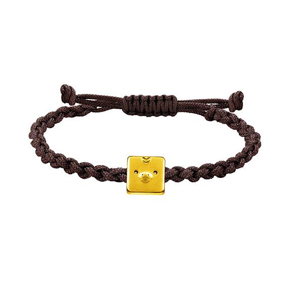 Rilakkuma™ Collection Kiiroitori Gold Charm Bracelet