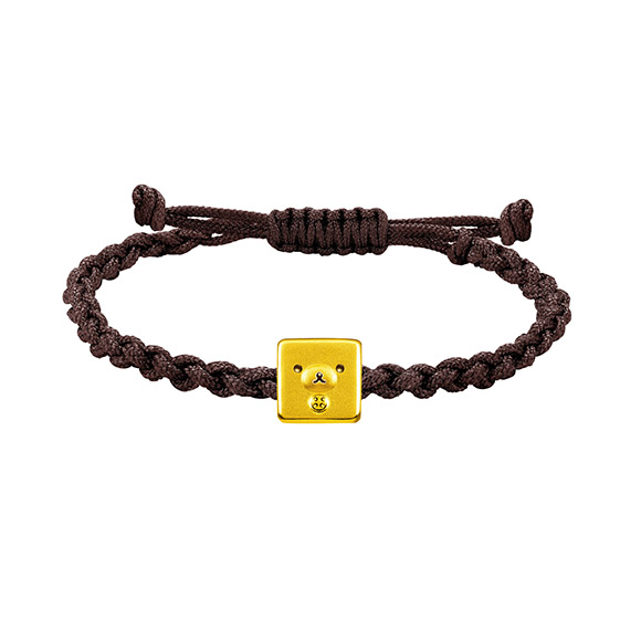 Rilakkuma™ Collection Korilakkuma Gold Charm Bracelet