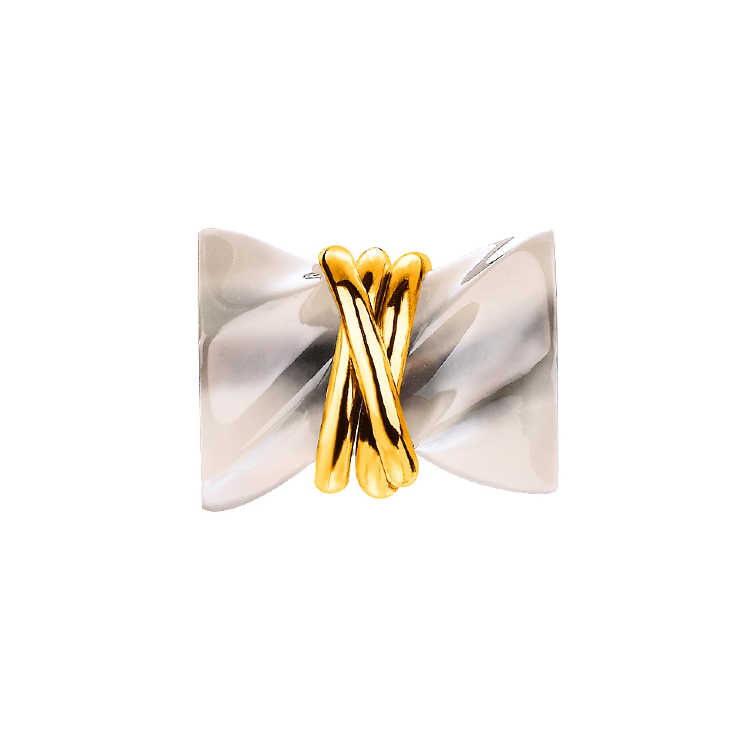 「六福齐来」黄金衬半宝石坠饰-人缘