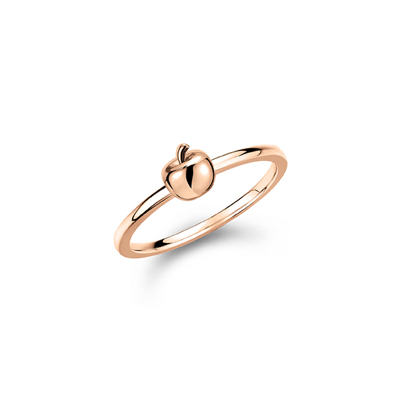 Rilakkuma™ Collection Apple 18K Rose Gold Ring