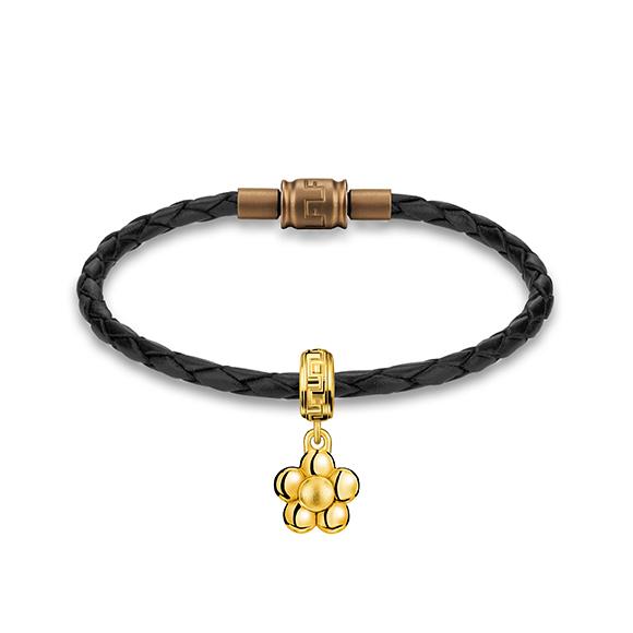 Rilakkuma™ Collection Flower Gold Charm
