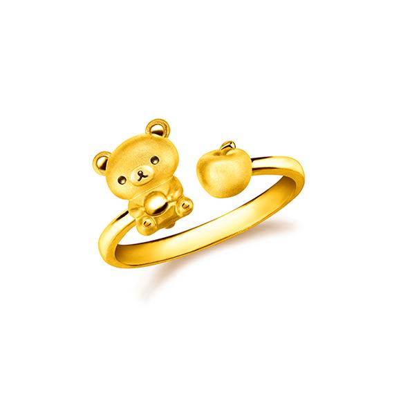 Rilakkuma™ Collection Rilakkuma™ & Apple Gold Ring