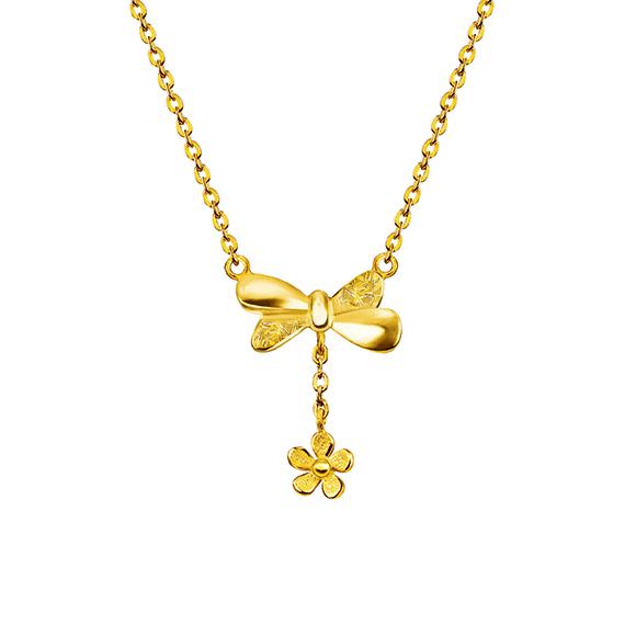 Gingko Leaf GoldNecklace