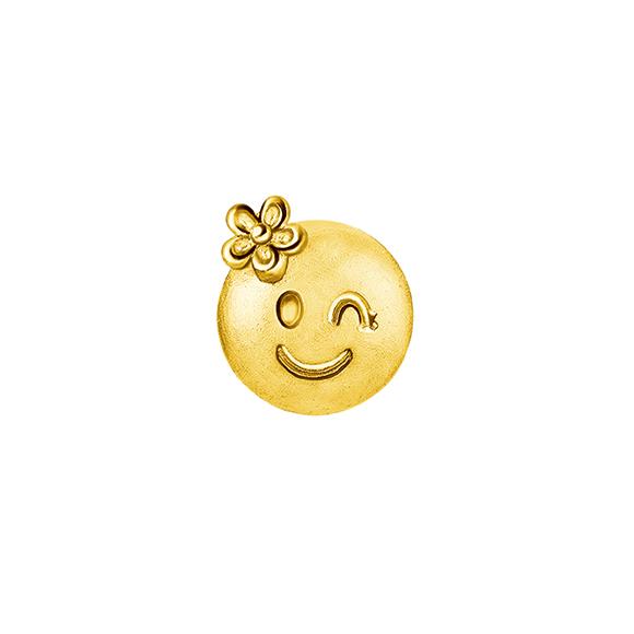 Emoji Gold Earrings