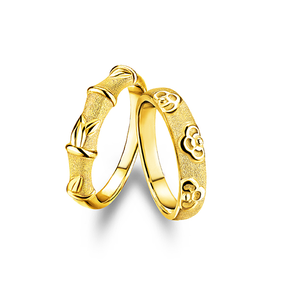 Beloved Collection「Enduring Love 」Gold rings