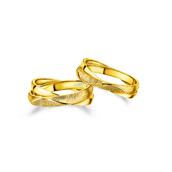 Beloved Collection「Hand in Hand 」Gold rings