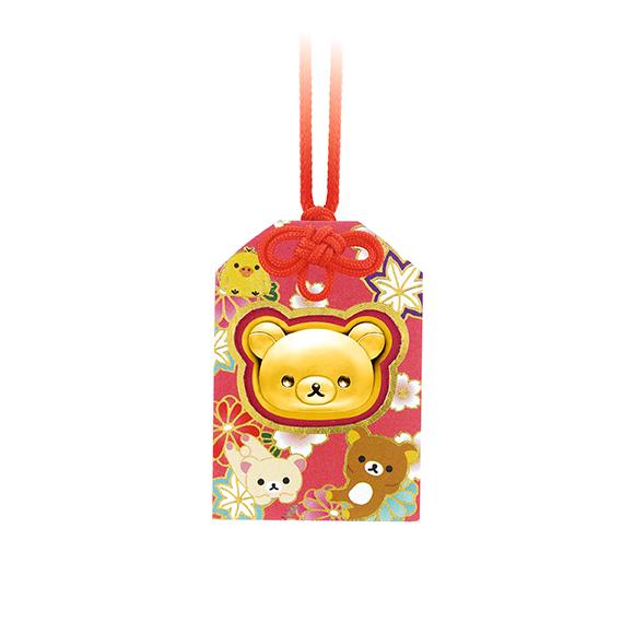 輕鬆小熊™系列足金掛飾