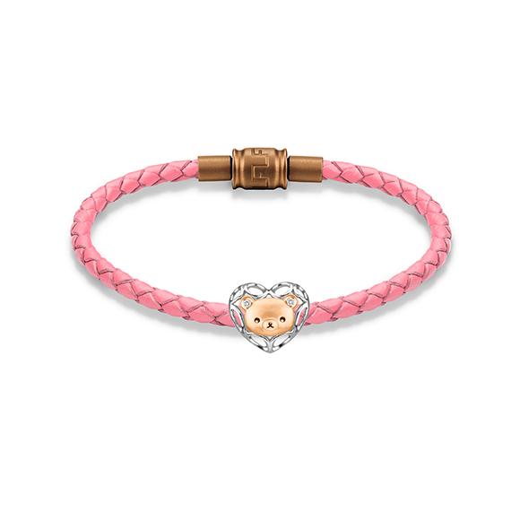 轻松小熊™系列18K金钻石串饰