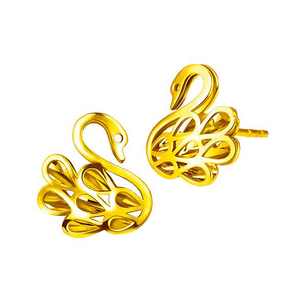 Goldstyle天姿耳環