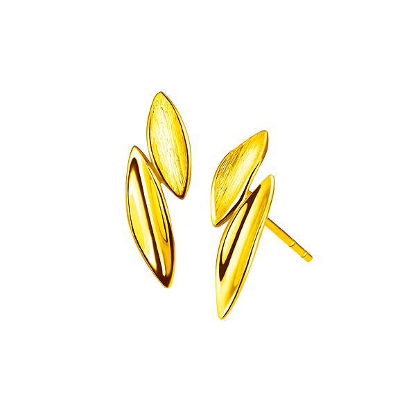 Goldstyle金葉耳環
