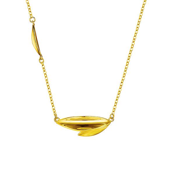 Goldstyle金叶项链