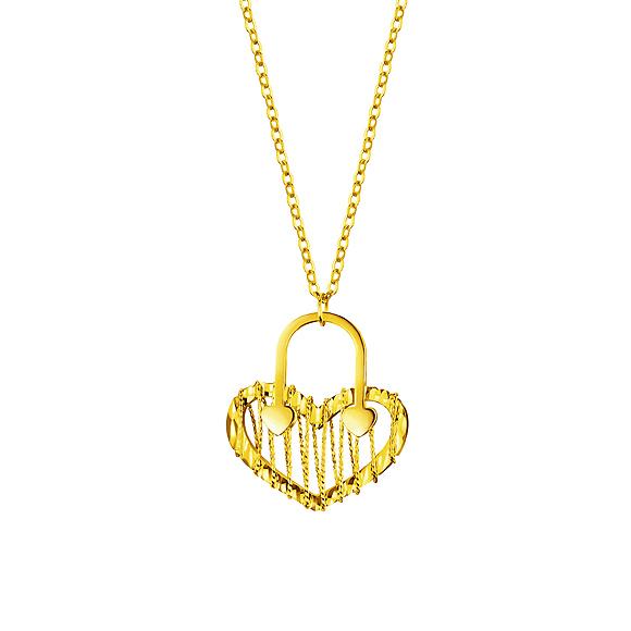 Goldstyle心扣项链