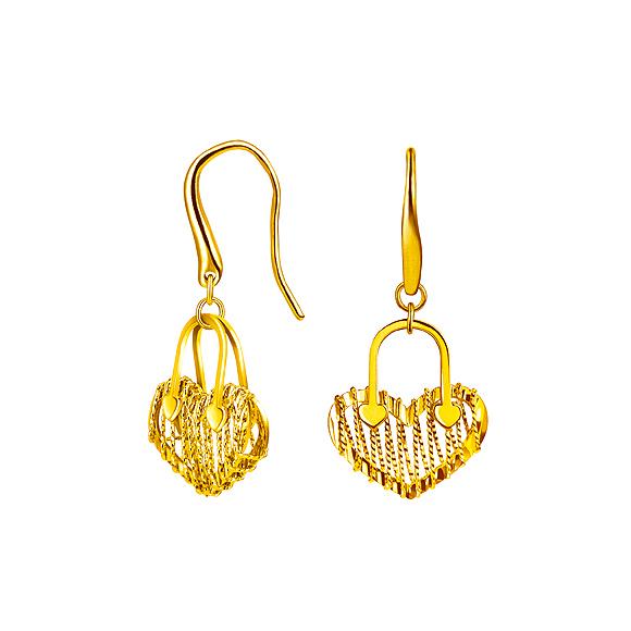 Goldstyle心扣耳環