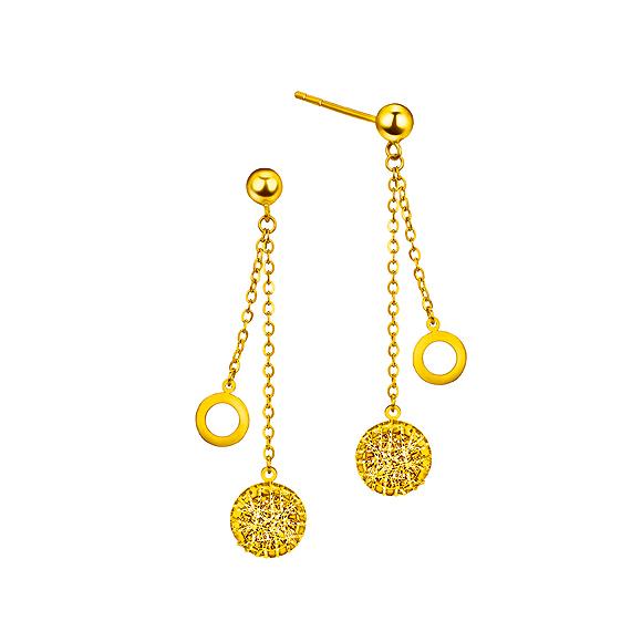 Goldstyle樂圓耳環