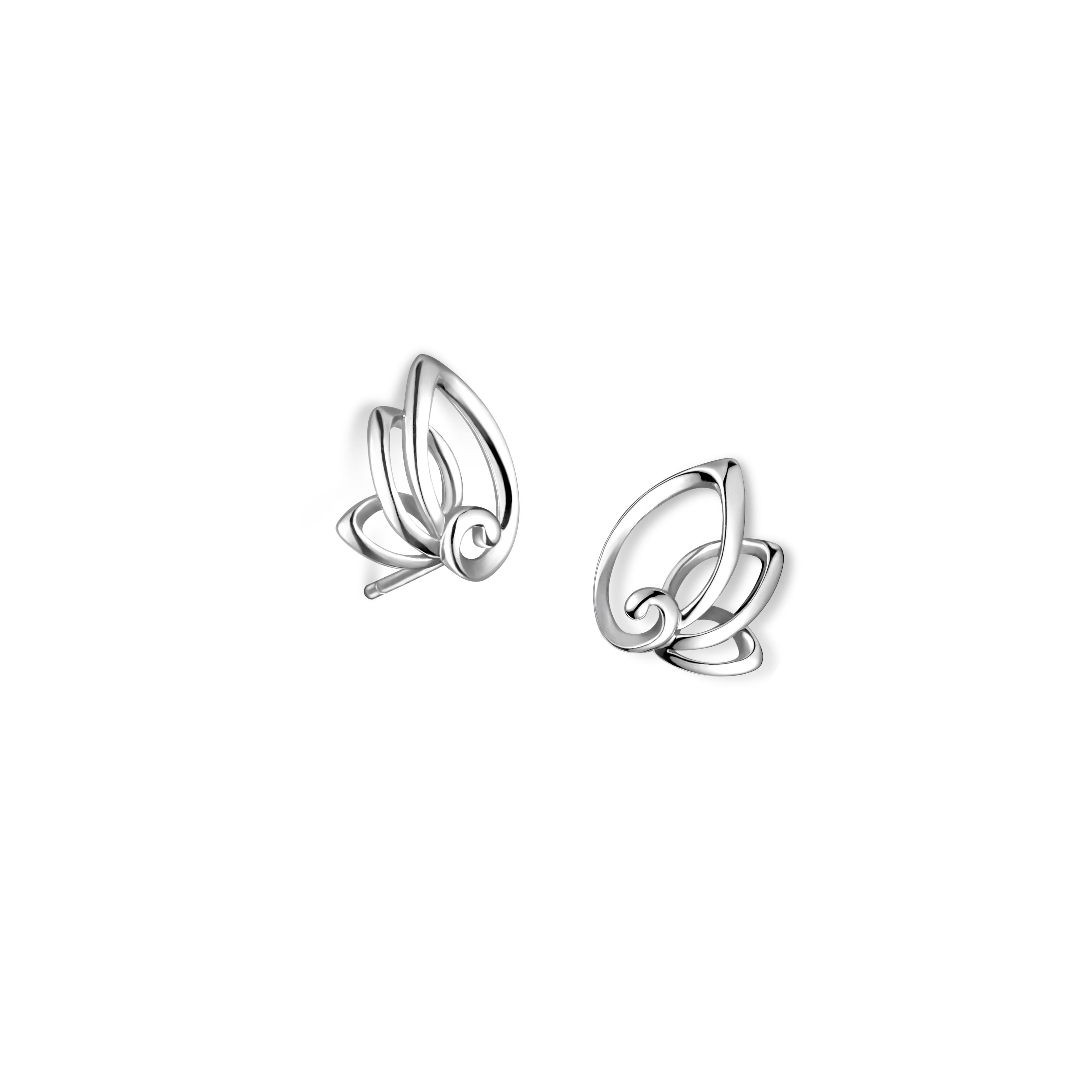 Pt Graceful 「夢想之翼」Earrings