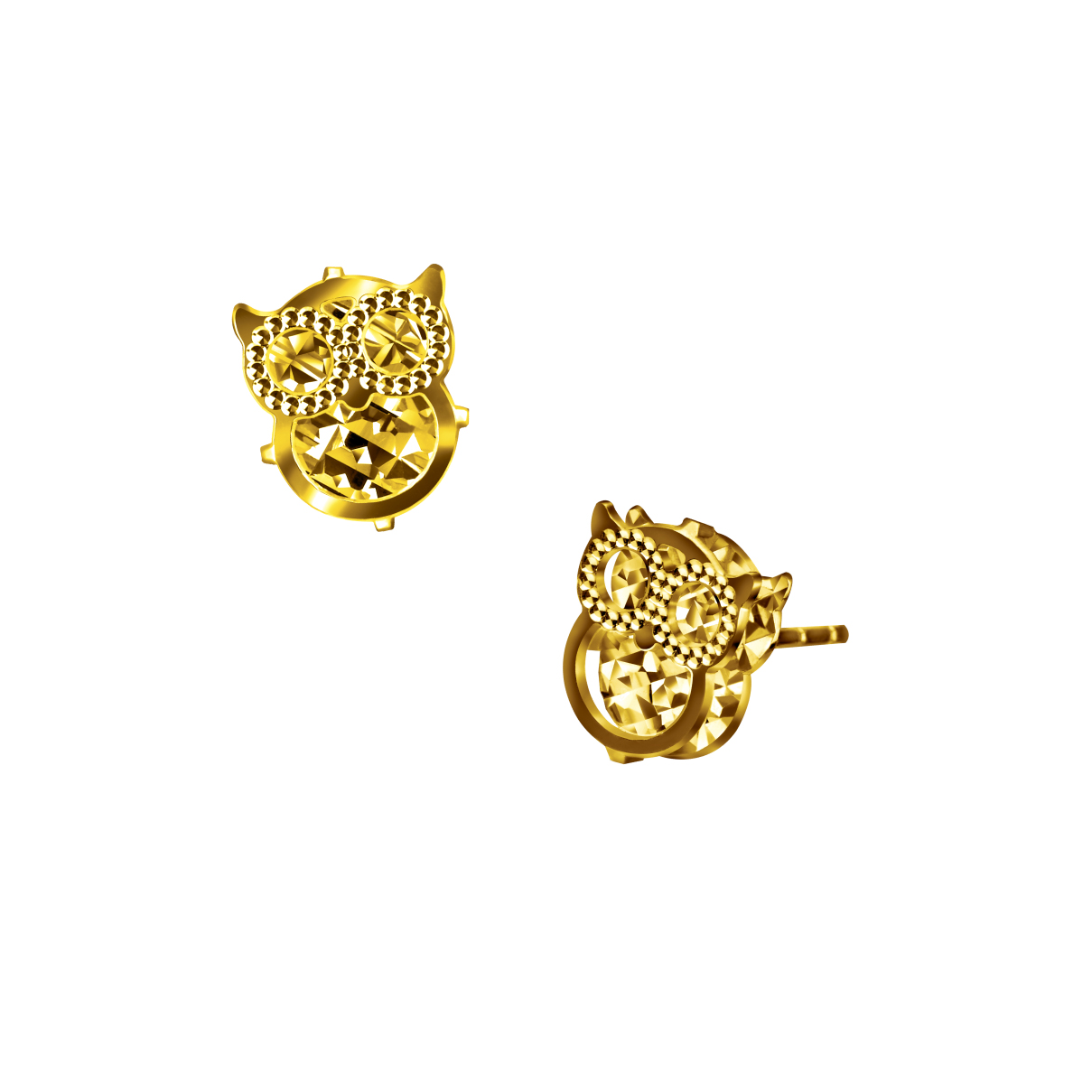 Goldstyle智慧的守護耳環