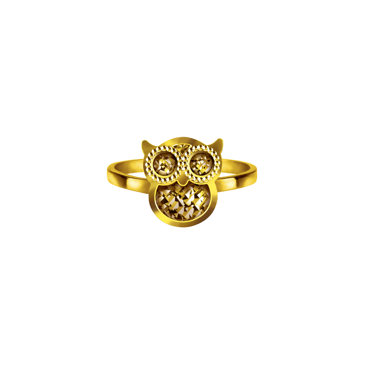 Goldstyle智慧的守护戒指