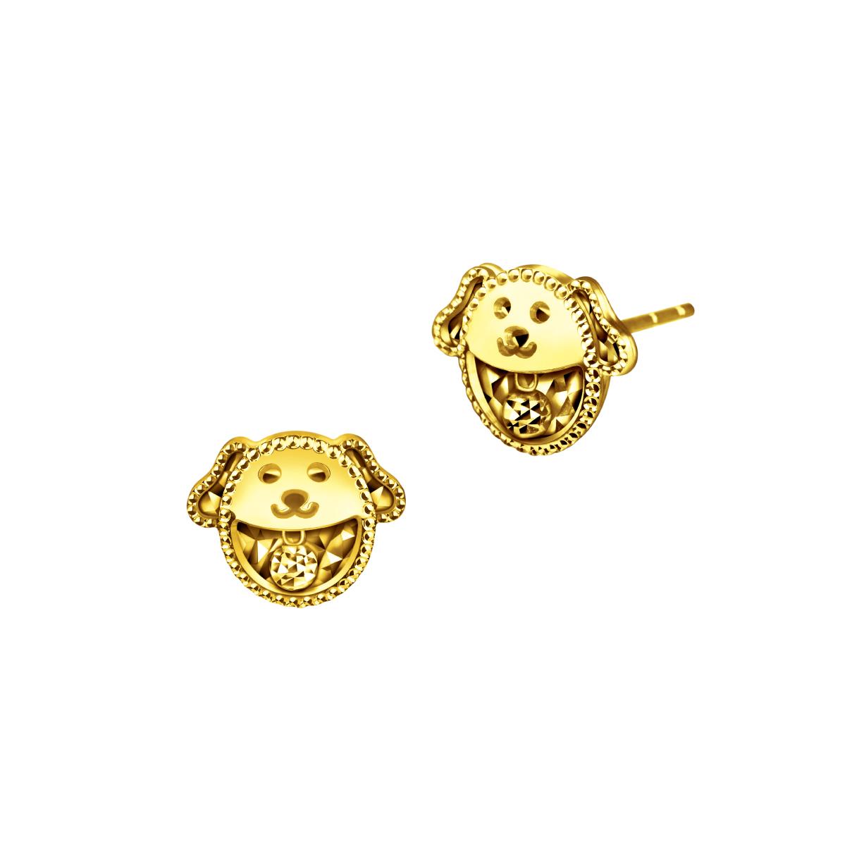 Goldstyle汪汪物語耳環