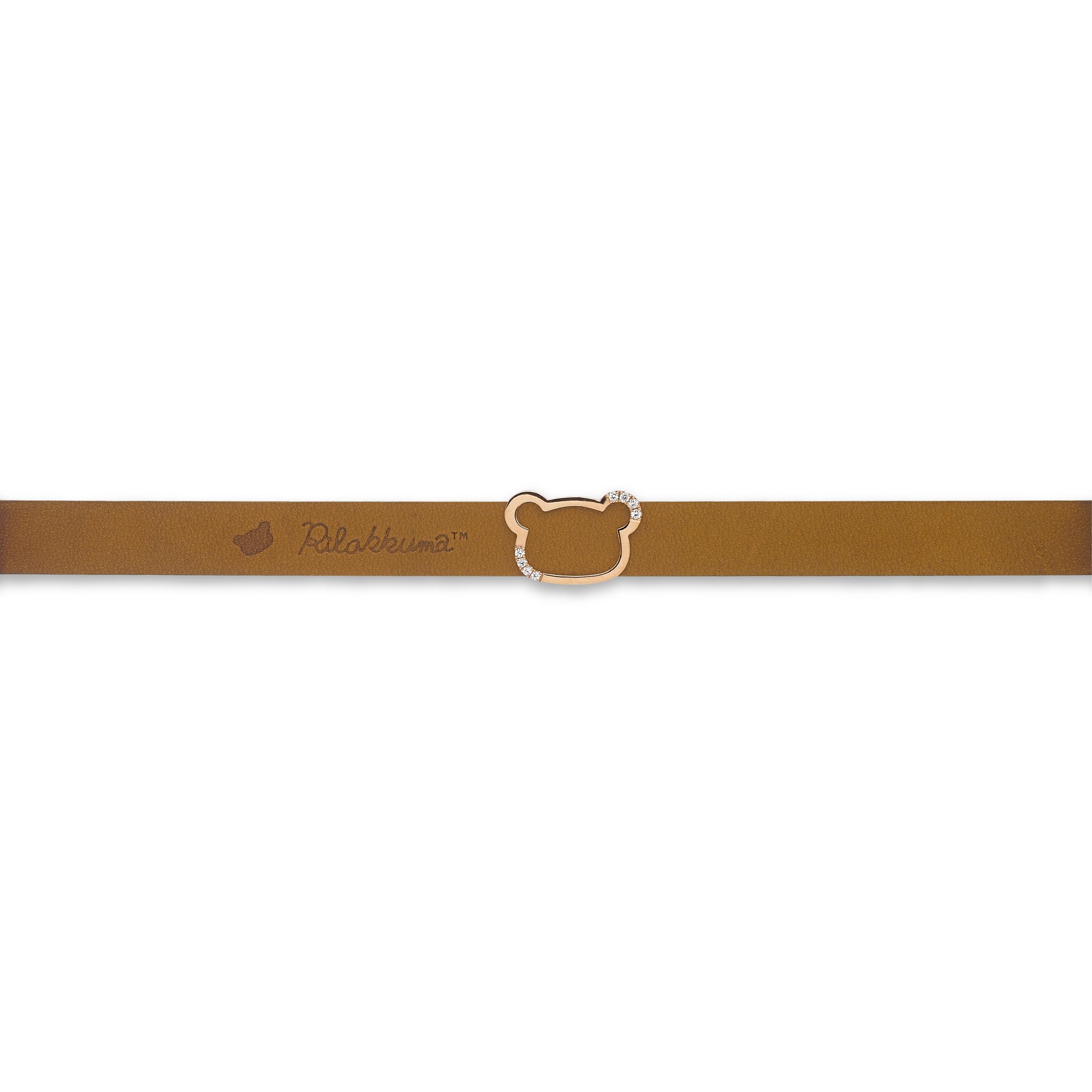 轻松小熊™系列18K金钻石皮手绳