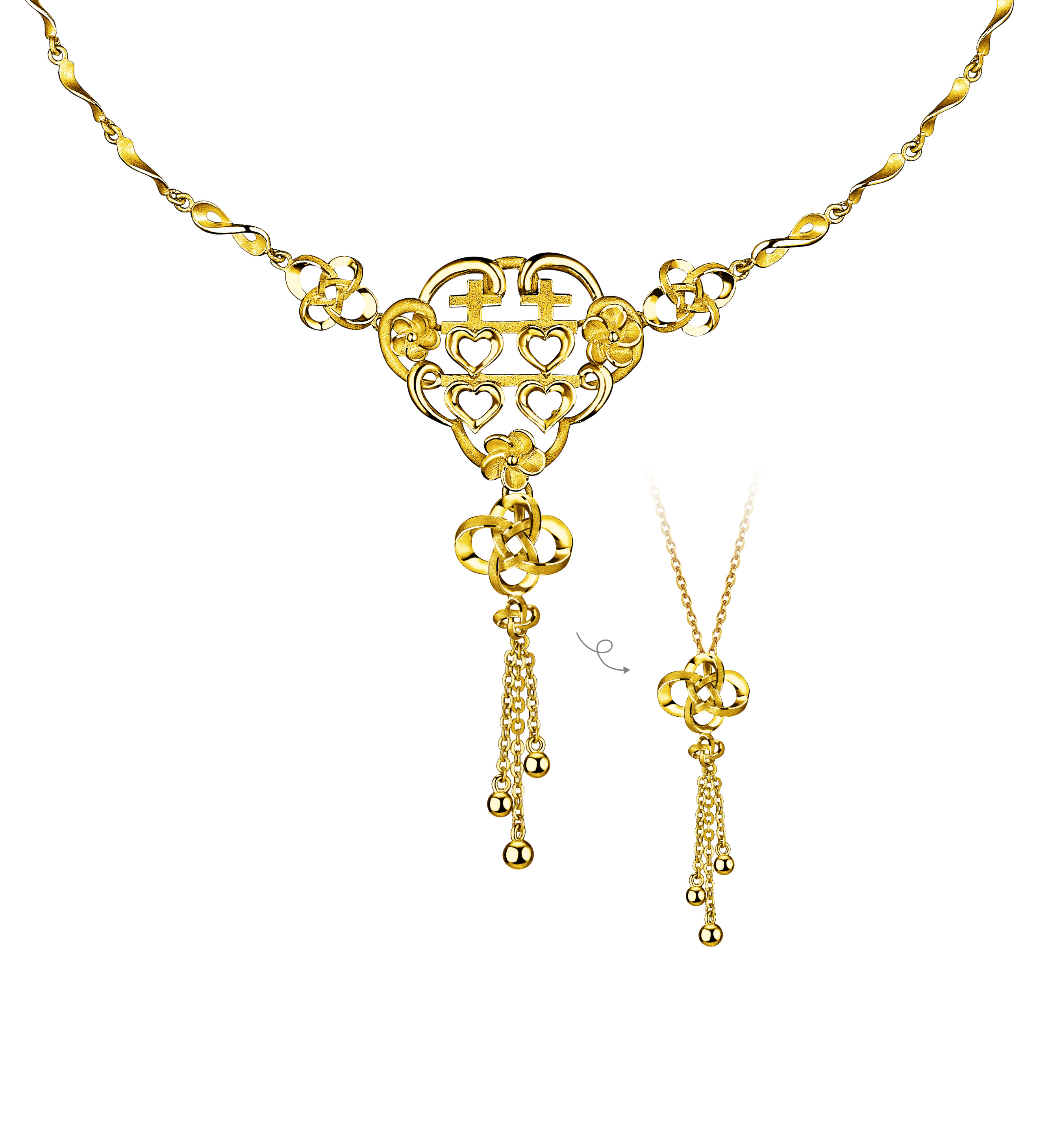 Beloved Collection Blissful Union Necklace
