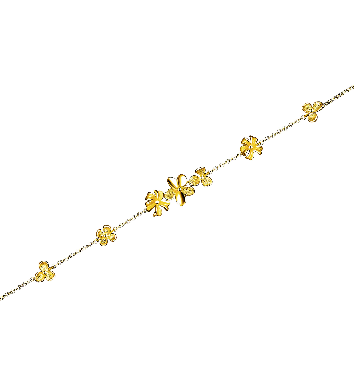 Beloved Collection Floral Love Bracelet
