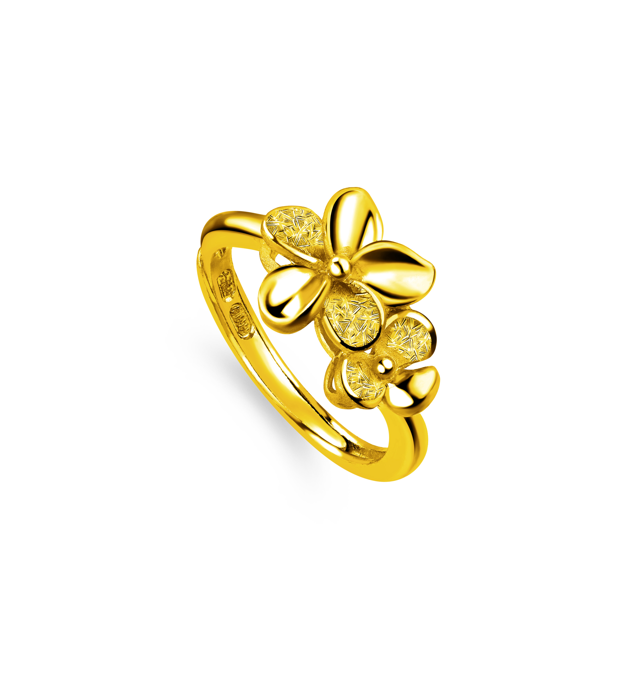 Beloved Collection Floral Love Ring