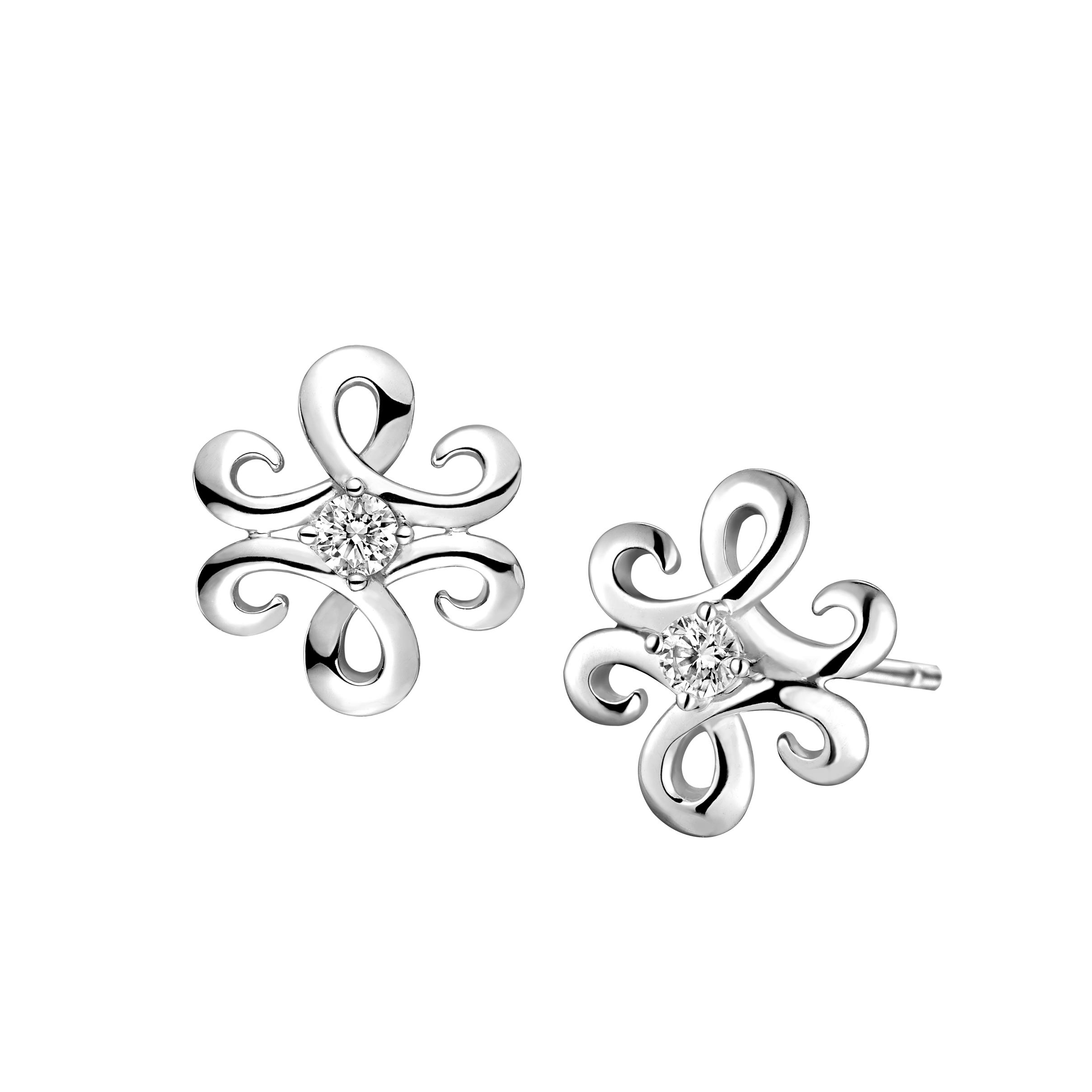 Dear Q Petite Nature- Floral Beauty Earrings