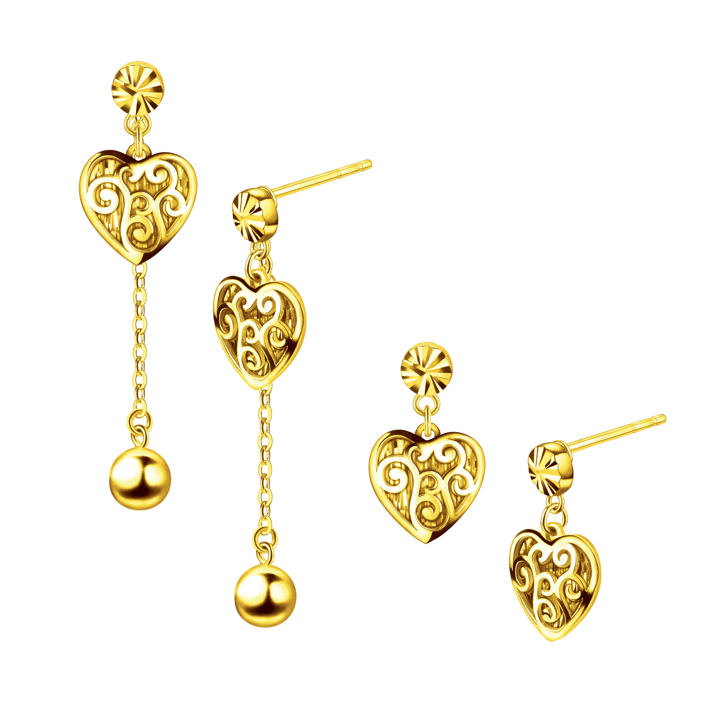 Goldstyle「Beating Heart」Earrings