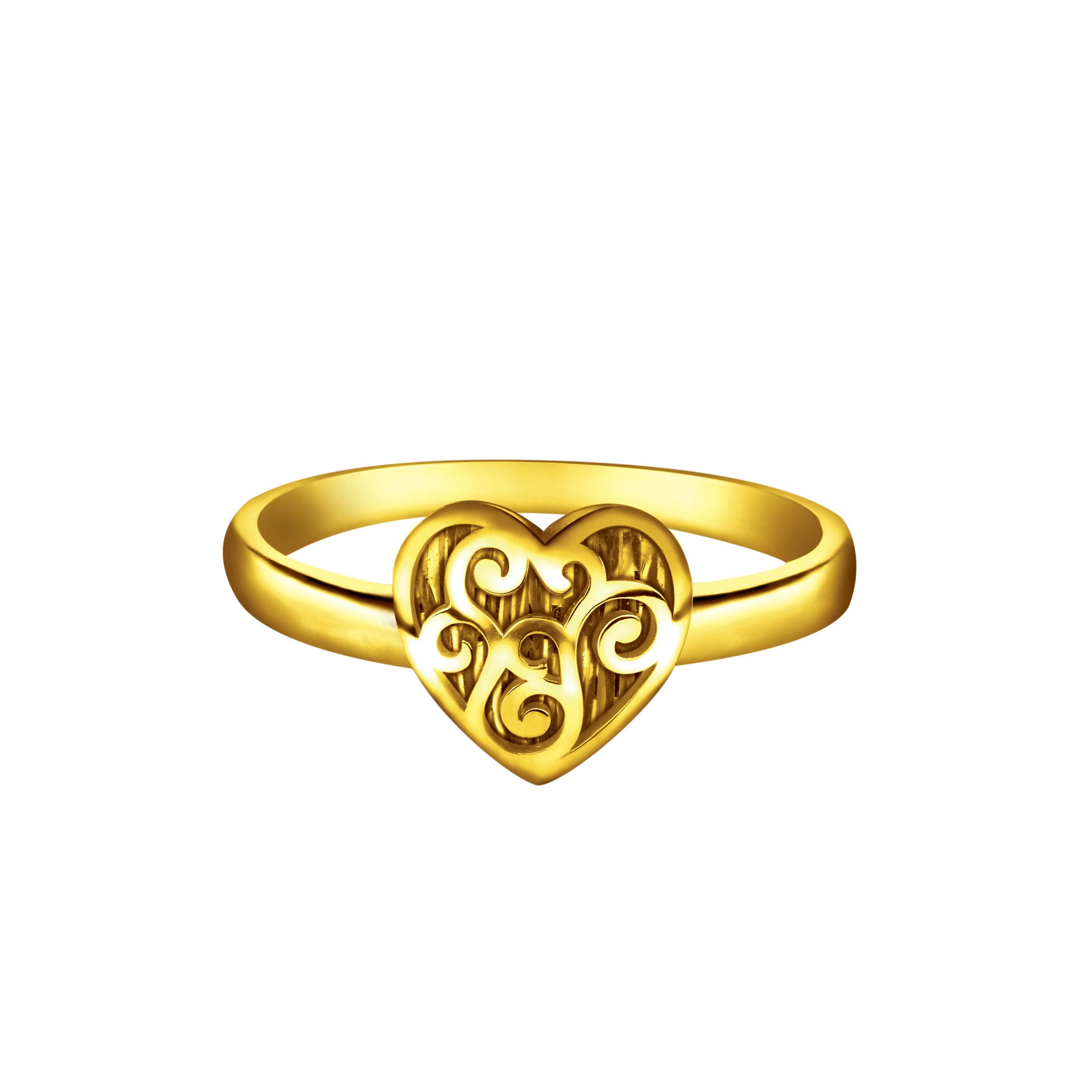 Goldstyle「心动」戒指