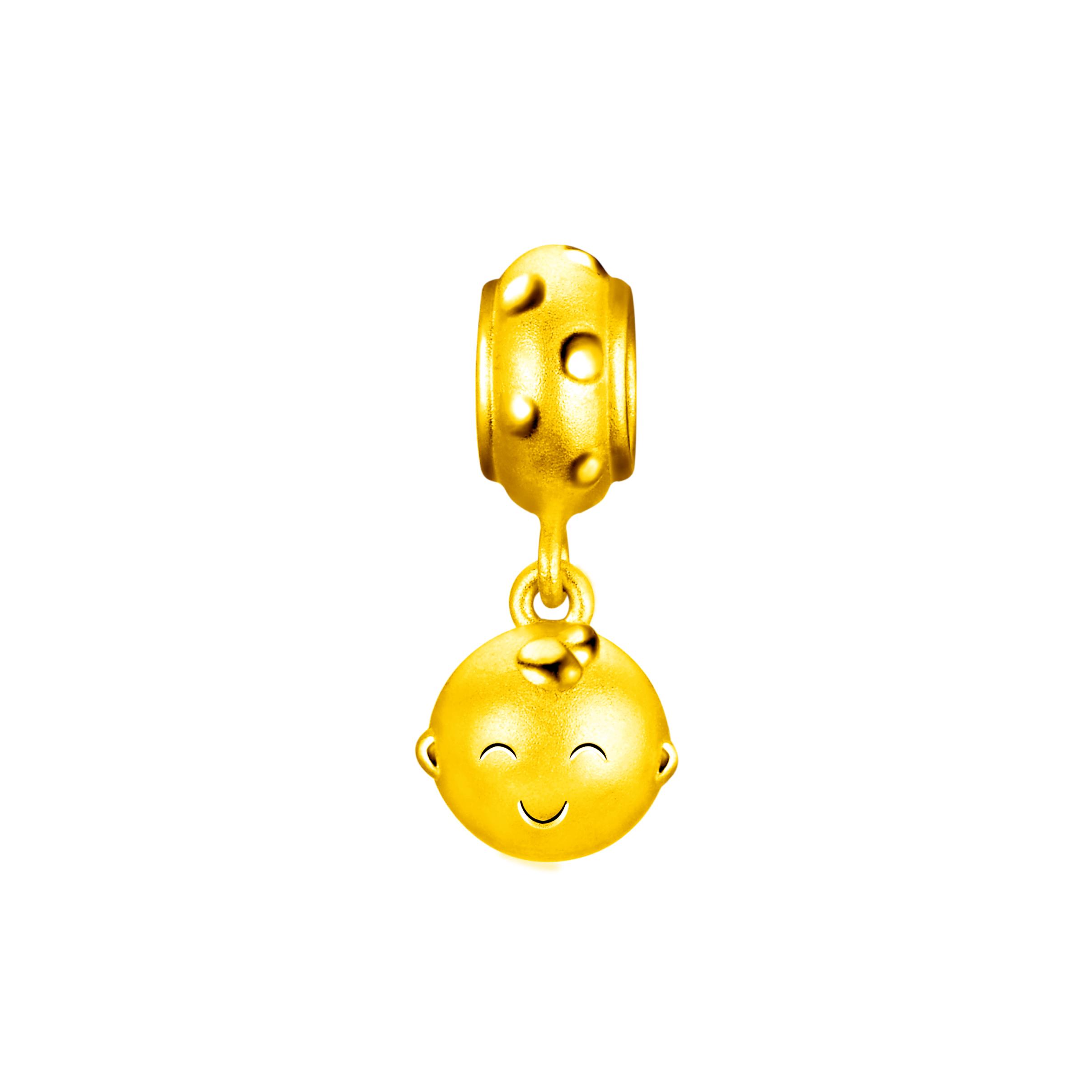 Hugging Family Ka-ka Three-dimensional Gold Bell