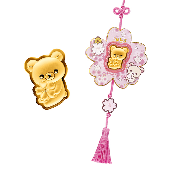 輕鬆小熊™系列黃金工藝品