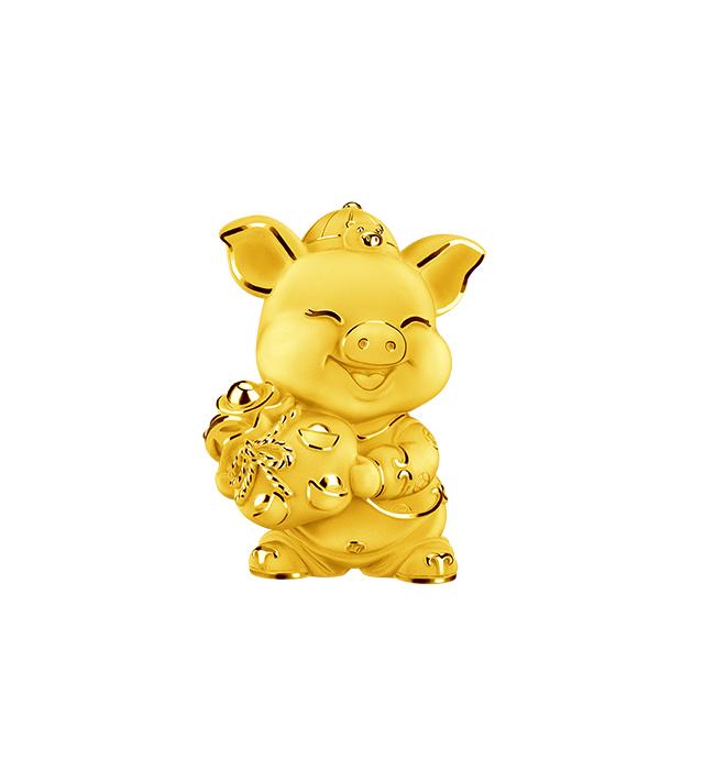 店鋪賀禮/擺設-福運金豬