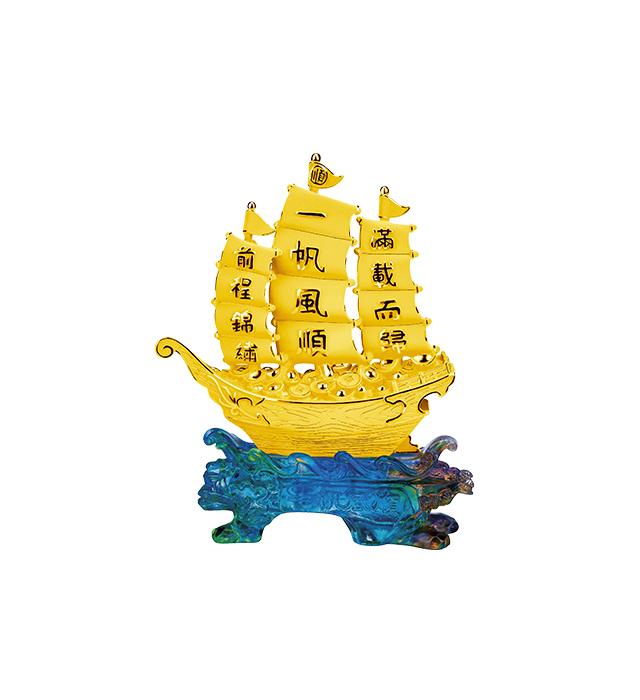 店鋪賀禮/擺設-聚寶船