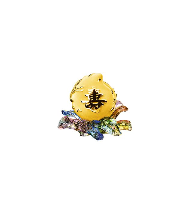 賀壽系列-琉璃單桃